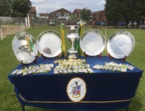 U15 Section Winners 2015-16