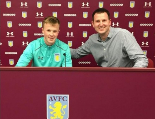 EJA U15 Rep Team Goalkeeper signs 2 year deal with Aston Villa