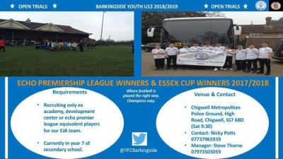 Barkingside advert picture