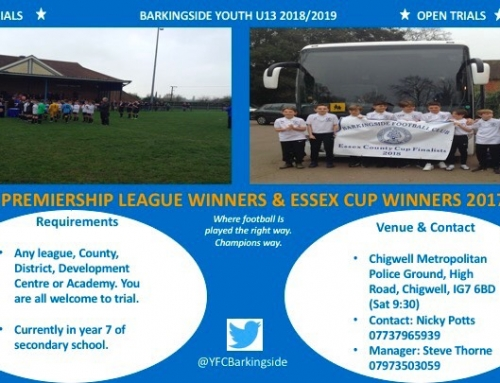 Barkingside Youth U13 2018